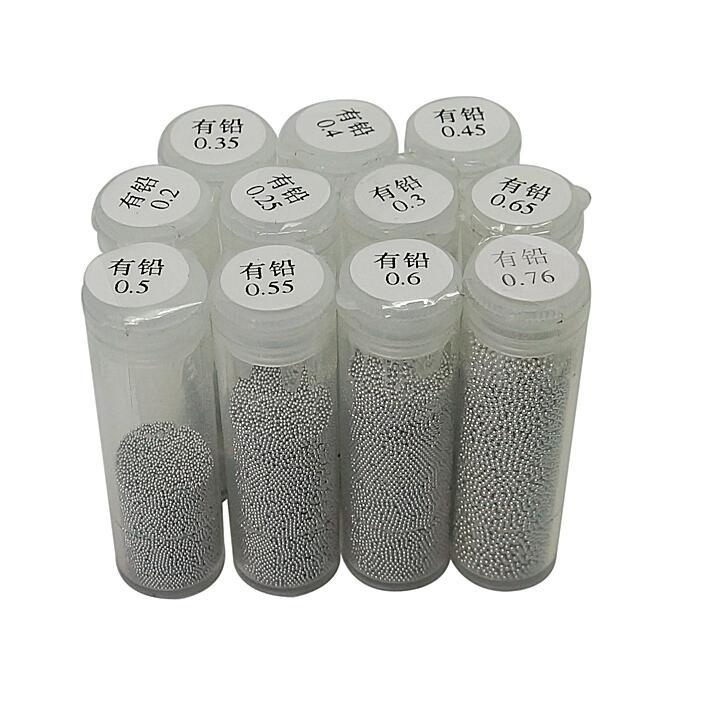 1 Bottles PMTC BGA Solder Ball 25K 0.2mm 0.25mm 0.3mm 0.35mm 0.4mm 0.45mm 0.5mm 0.55mm 0.6mm 0.65mm 0.76mm Leaded Tin Solder Bal