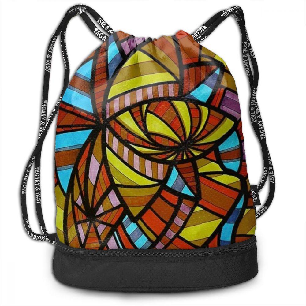 NOISYDESIGNS 3d Backpack Landscape Drawstring Bag Sack Sport Gym Travel Outdoor Backpack Boys Girls Bags For Shoes Drawstring
