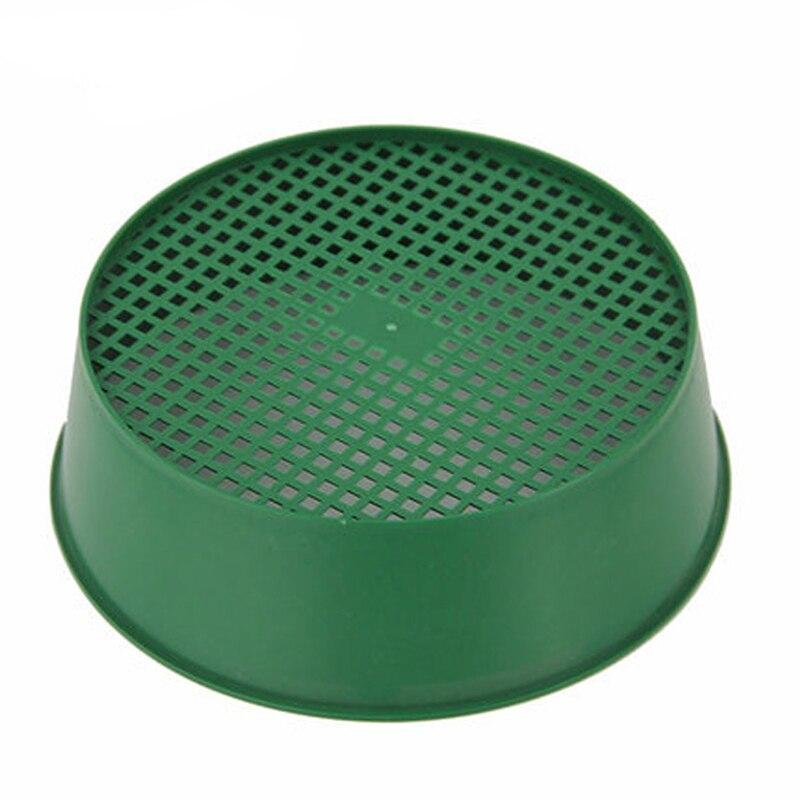 Пластиковая тонкая сетка сито зеленая Экологичная домашняя посадка идеально подходит для балкона сад Садоводство инструменты крепкое садовое сито