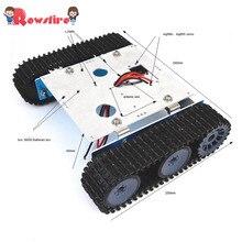 DIY алюминиевый сплав Танк робот гусеница платформа шасси Монтажный комплект для Arduino