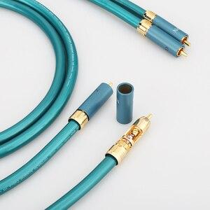 Image 4 - Hifi A55 Ortofon câble RCA amplificateur CD haut de gamme interconnecter 2RCA à 2RCA câble Audio mâle