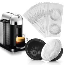 FILTER-CUP-SET Aluminum Coffee-Mug Anti-Slip Disposable Self-Adhesive Matte 63pcs/Set
