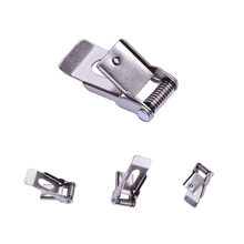 LED Downlight hardware flat plate metal panel springs clip for ceiling hanging