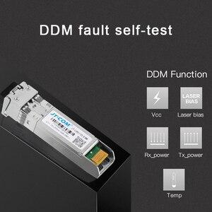 Image 4 - 10G SFP+ duplex LC SFP Module Multi Mode 850nm 300m  SFP 10G SR with Cisco/Mikrotik/Huawei Switch Full Compatible