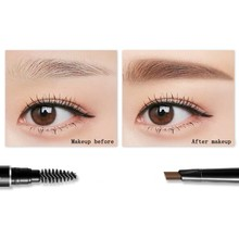 Natural Eyebrow Makeup Double Ended Pencil Waterproof Lasting