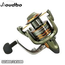 12 + 1bb 6bb fiação carretel de pesca engrenagem relação 4.7:1 5.1:1 metal esquerda/mão direita carretel de pesca rodas