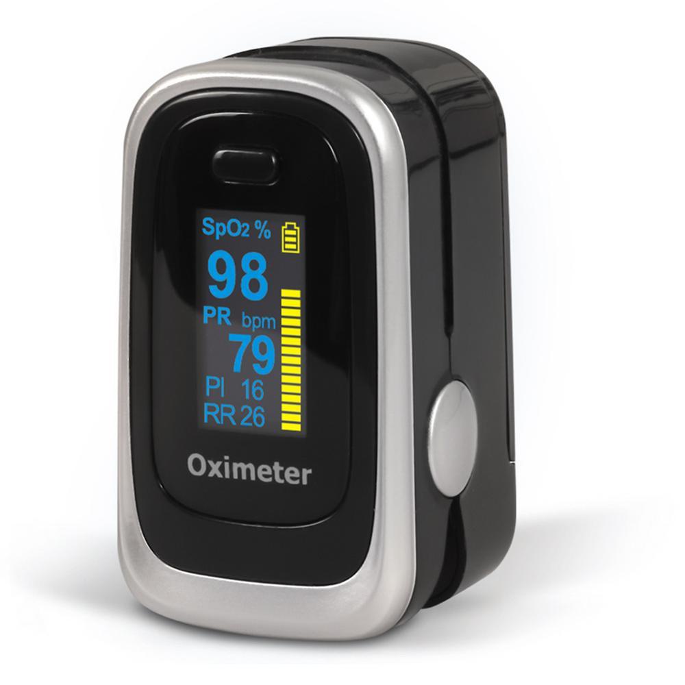 Newest Fingertip Finger Pulse Oximeter OLED Digital Display Heart Rate Blood Oxygen Saturation Meter SpO2 Monitor Blood Oximeter