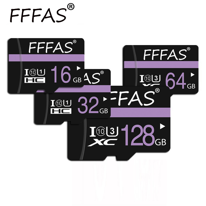 Micro SD Card 8gb/16gb/32gb 64gb/128gb TF Cards Map Memory Cards Flash Storage High Speed Class 10 Free Gift SD Adapter