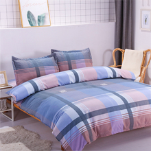 phf yarn dyed duvet cover set lightweight jacquard luxury soft bedding cotton 3 pieces queen size black ivory with corner ties Soft&Washable Cover Duvet Set With Warm Melted Cotton Filling Home Textiles 4pcs Bedding Set Quilt Cover Queen Size Bed Sheets