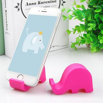 Elephant Phone Holder Desk Stand For Mobile Phone Accessories Tripod For IPhone Huawei Xiaomi Plastic Foldable Desk Holder Stand image