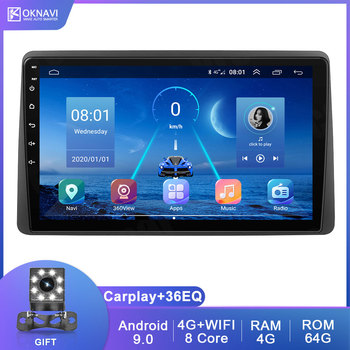 OKNAVI Android 2 Din Car Head Unit Radio Audio GPS Multimedia Player For Renault Dacia Duster 2018 2019 GPS Navigation No DVD автомобильный dvd плеер junniu 4 2 2 dvd skoda octaiva 7 2 din gps gps 8gb