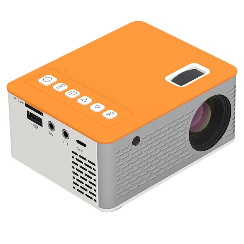 Novo hd mini projetor de vídeo portátil cinema em casa suporte do telefone móvel vídeo player filme jogo proyector-0
