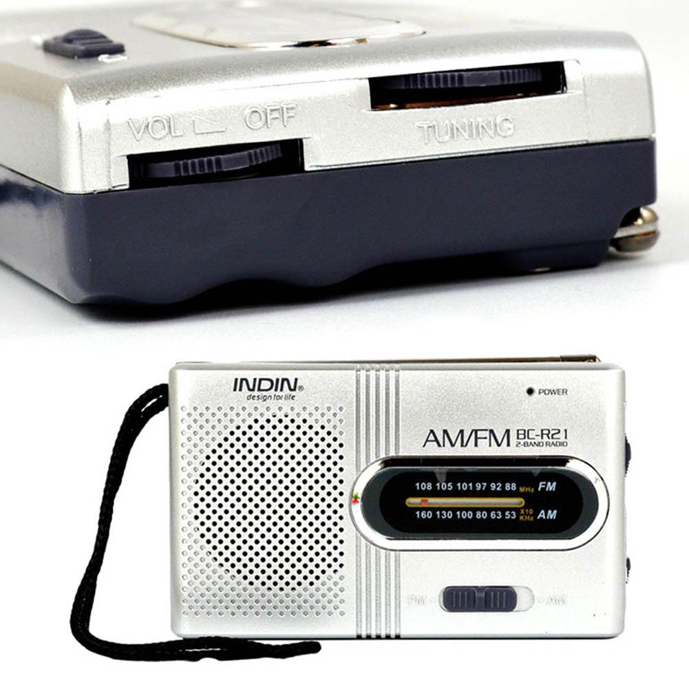 Мини Портативный AM/FM радио телескопическая антенна Радио Карманный мир приемник динамик OUJ99
