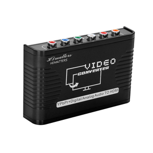 Image 5 - 5 RCA Ypbpr komponent na HDMI konwerter kabel komponent wideo na hdmi konwerter wideo audio adapter na ps2 wii i więcej