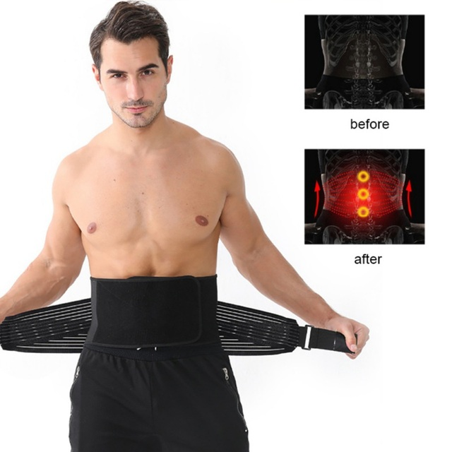 2020 Hot Sale Waist Trainer & Trimmer Sweat Belt For Men & Women Fitness Shapewear Wrap Tummy Stomach Weight Loss Fat 2