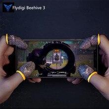 Flydigi خلية النحل أذرع التحكم في ألعاب الفيديو قفازات مضادة للعرق 2/3 عام للألعاب الهاتف ، PUBG وغيرها من الشاشات التي تعمل باللمس المهنية الإبهام
