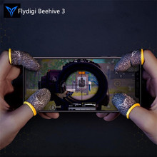 Flydigi Beehive Game Controller Sweatproof Gloves 2/3 Generatio for Phone Gaming,PUBG and other professional touch screen thumbs