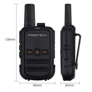Image 3 - 4PCs AP102 Portable Two Way Radio STOCK in RUSSIA Mini Size 5W Walkie Talkie long range with VOX CTCSS/DCS codes