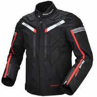 Motorcycle Jacket Men Waterproof Windproof Full Body Protective Autumn Winter Riding Racing Motorbike Jacket Clothing 128