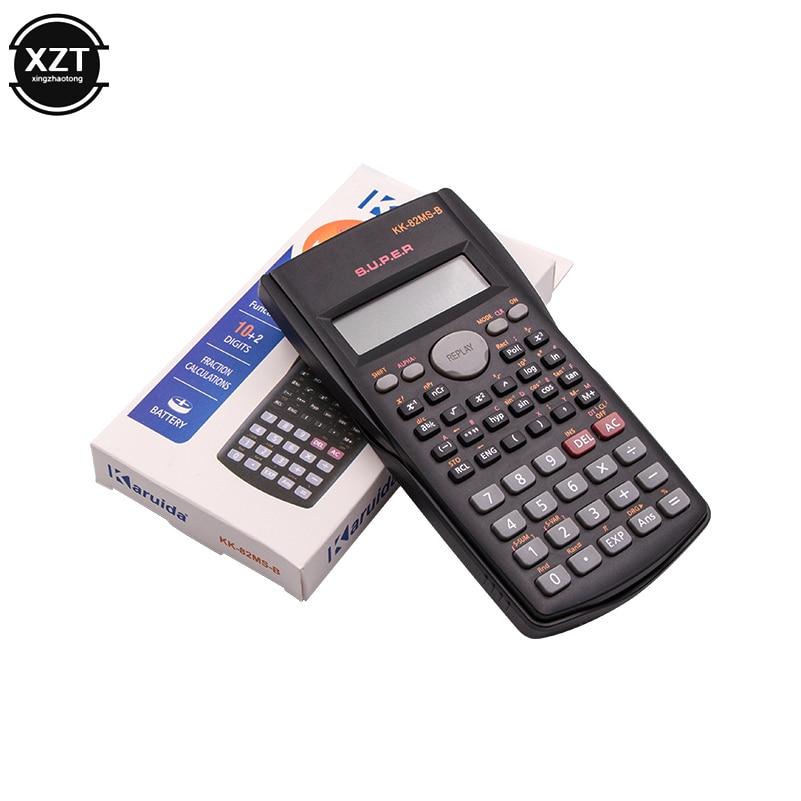 Учебный калькулятор, инженерные принадлежности, учебный ручной калькулятор для школы и офиса, аксессуары