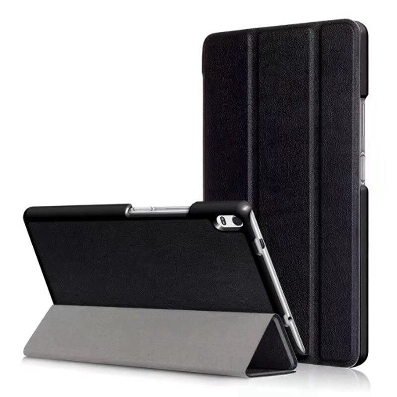 Slim Magnetic PU Leather Case For Lenovo Tab 4 8 Plus TB-8704x TB-8704F Tablet Cover For Lenovo Tab 4 8 Plus Case +FilmGift