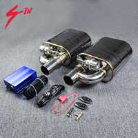 Vacuum Muffler Double Exhaust Muffler Vacuum Pump Cutout Valve Control Sets Single Inlet to Double outlet