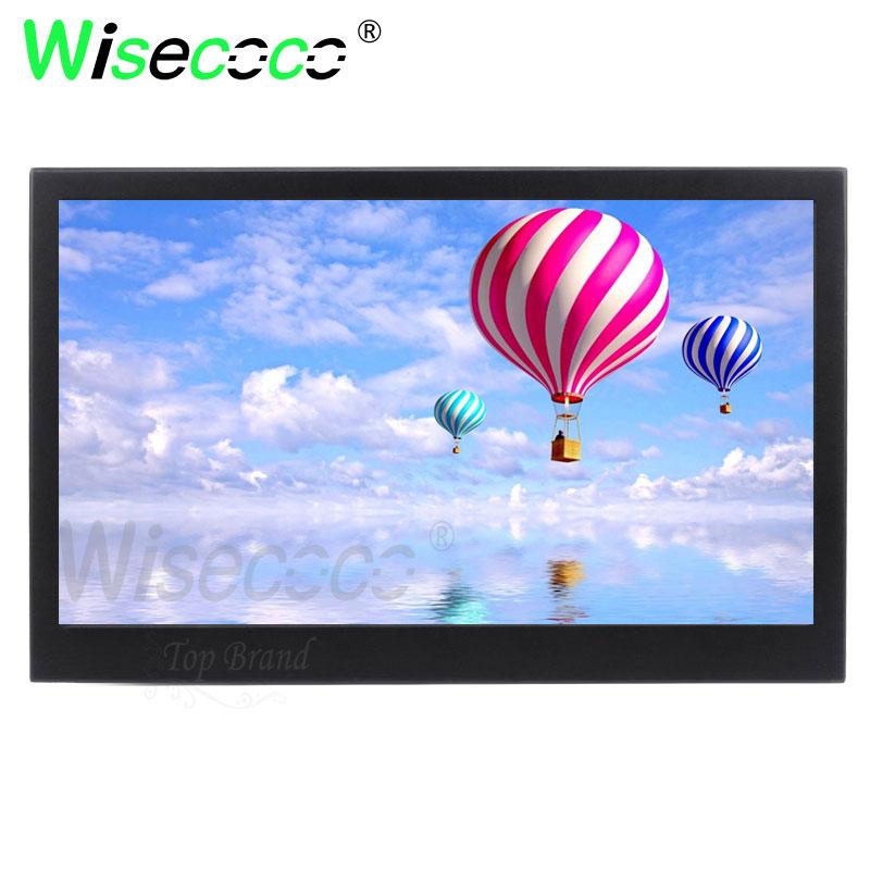 Wisecoco 13.3 polegada ips 2k monitor com embalagem exterior computador display para raspberry pi fone de ouvido dupla interface hdmi - 3