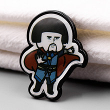 The Avengers 4 Dokter Aneh Bros dan Enamel Pin Iron Man Tony Stark Kerah Ransel Kerah Pin(China)