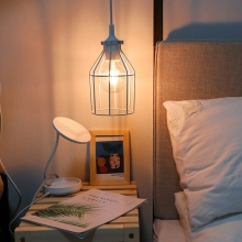 цены Metal Lamp Guard Industrial Bulb Guard Vintage Lamp Holder Pendant Wire Lamp Light Guard Cage Lampshades