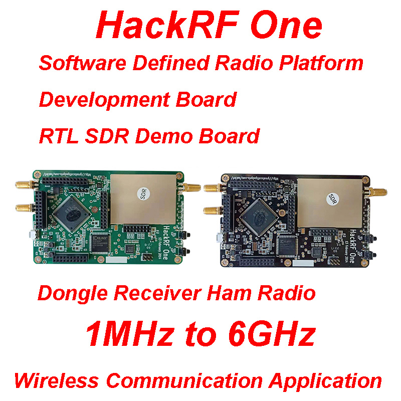 HackRF One 1MHz To 6GHz Open Source Software Radio Platform Development Board RTL SDR Demo Board Kit Dongle Receiver Ham Radio