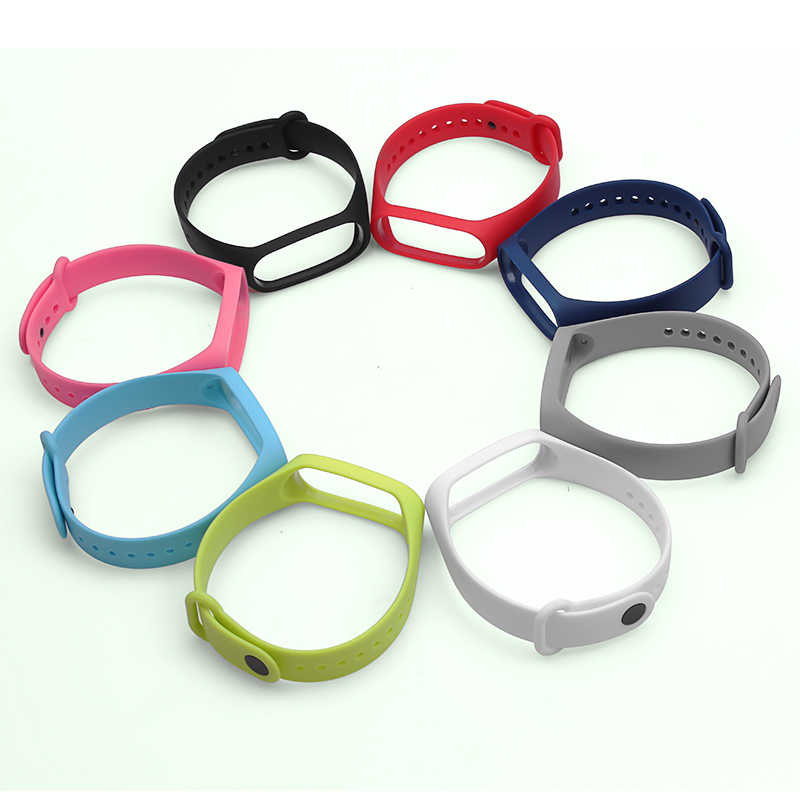 Intelligente Wristband Cinghia Per Xiao mi mi fascia 3 4 multi tipo Patterned Mi Fascia di parte di ricambio Per mi Llet 3/4 TPU Cinghia Braccialetto
