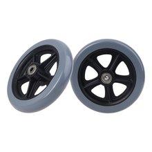 """2 шт 6 """"колесики для коляски маленькие тележки ролики колеса"""