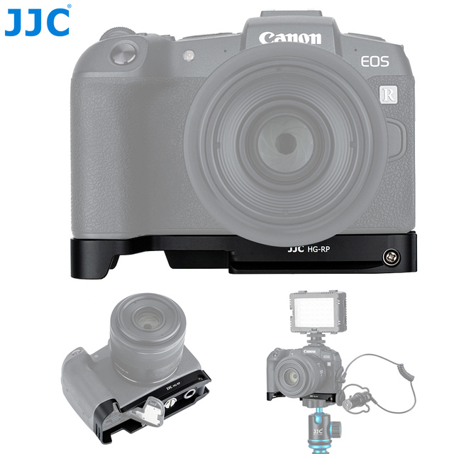 JJC Extension Grip For Canon EOSRP EOS RP Camera Holder Arca Swiss Type Quick Release Plate Anti Slip Pad Replaces Canon EG E1