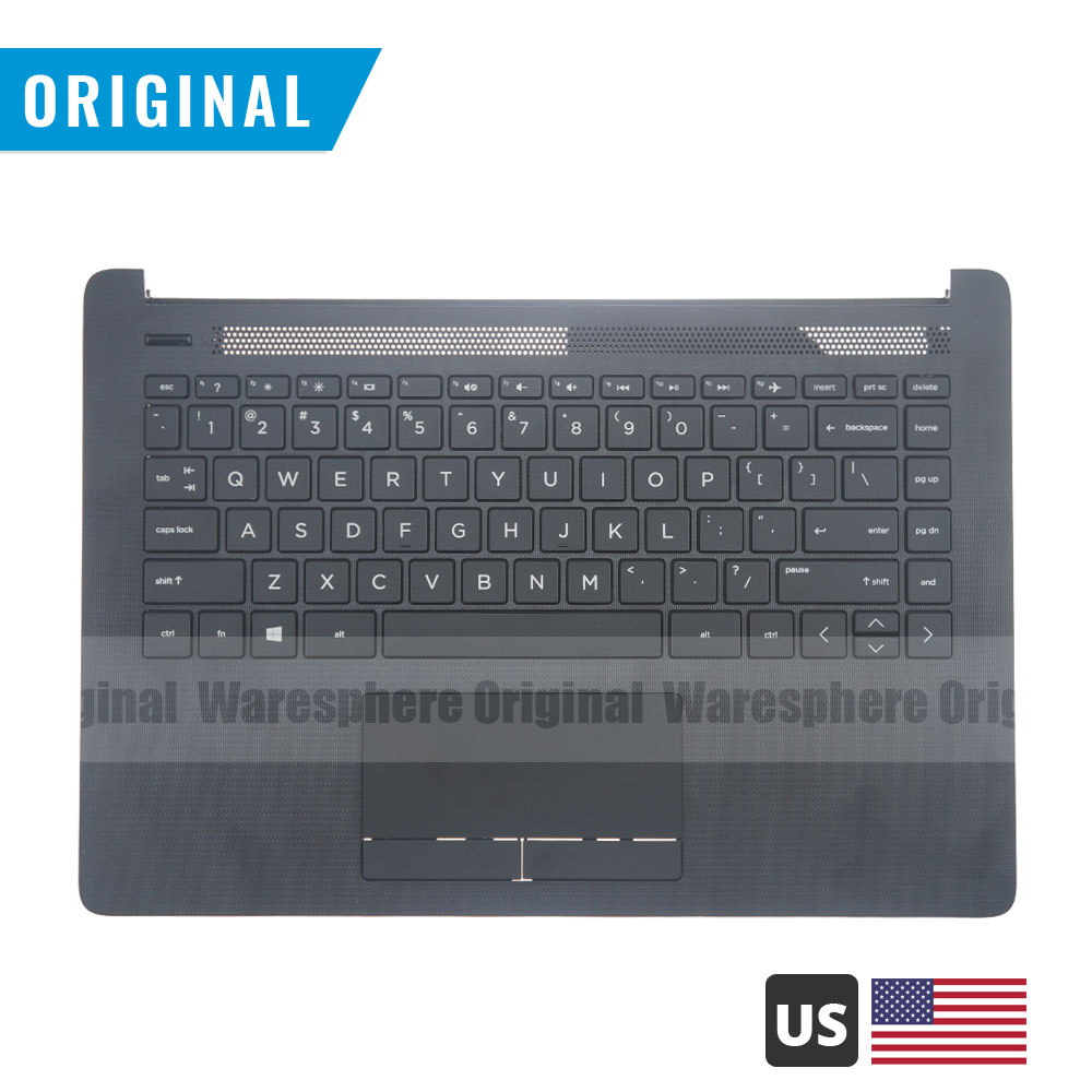 New Original Palmrest For HP 14-CM 14T-CM000 14-CK0001TU 14q-cs0000TU Top Cover With US Keyboard Touchpad Upper Case L23239-001