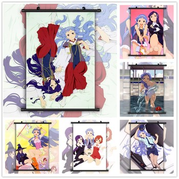 Kannagi Crazy Shrine Maidens Nagi Zange Aoba HD Print Wall Poster Scroll image