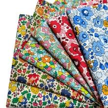 145x100cm Spring Summer Cotton Super Dense Poplin Sewing Fabric DIY Making Women's Wear Dress Children Handmade Home Clothes