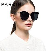 PARZIN Brand Polarized Women Sunglasses Classic Floral Frame Vintage Su