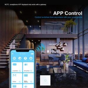 Image 4 - Livolo Eu Standaard Smart Wifi Draadloze Intelligentie Muur Schakelaar, 2 Manieren Cross Controle, Werk Google Thuis, echo, Alexa, Timer Functie