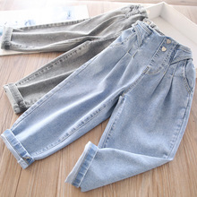 2021 Spring Girls' Casual Jeans Children's Clothing Wholesale