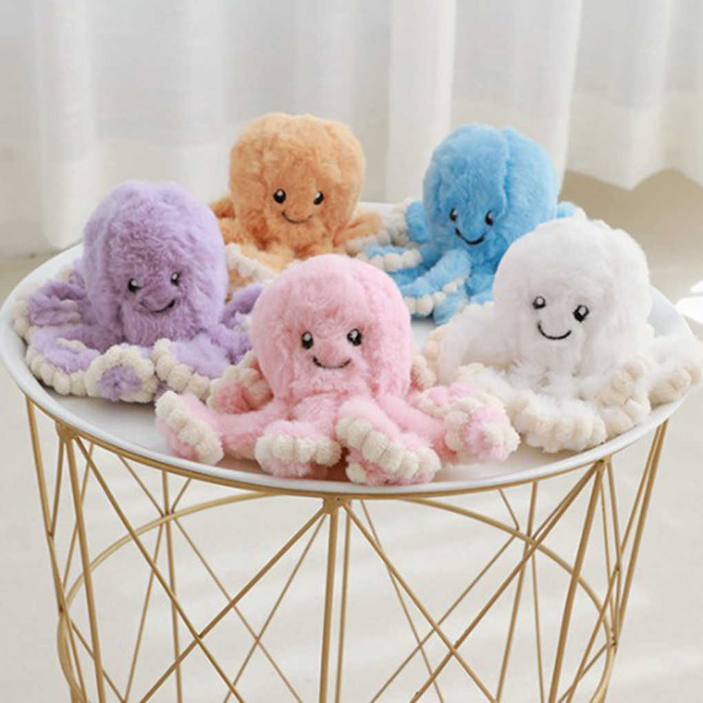 Lovely Simulation octopus Pendant Plush Stuffed Toy Soft Animal Home Accessories Cute Animal Doll Children Gifts