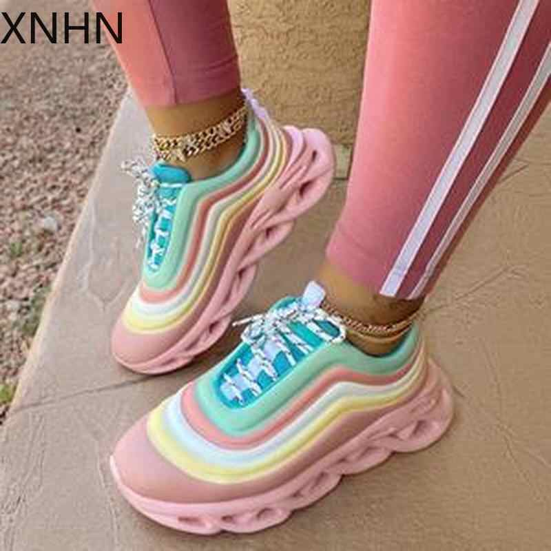Vrouwen Flats Casual Schoenen Vrouw Lace Up Plus Size Sport Sneaker Candy Leuke Zoete Schoen Chaussures Femme Zapatos Mujer Sapato