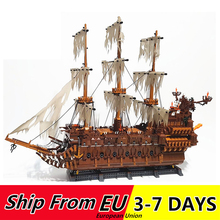 Lepins 16016 3652pcs MOC The Fly the Netherlands Ship Blocks Model Building Educational Toys for Kids king 83015