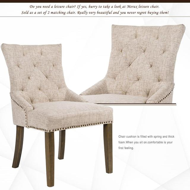 2  Padded Dining Chairs  6