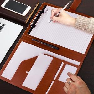 Image 5 - A4フォルダはpu革ドキュメントフォルダブリーフケース格納するためファイルフォルダのための学校やオフィスホルダー