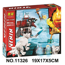94pcs Ninja Lloyd's Journey 11326 Figure Building Blocks Children Toy Compatible With LEPINING 70671 compatible with lego ninja 70751 2150 pcs 06022 blocks ninja figure temple of airjitzu toys for children building blocks 70603