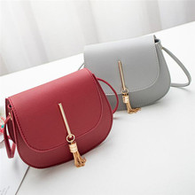 Fashion Womens Girl Lady Cute Mini Crossbody Shoulder Bag PU Leather Ladies Hand bags Tote Purse Handbag bolsas feminina