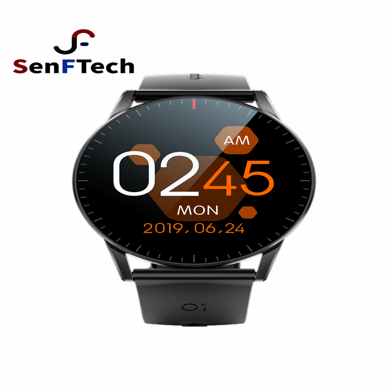 QS09 full-touch smart watch heart rate monitoring exercise management health management APP information to remind multiple langu