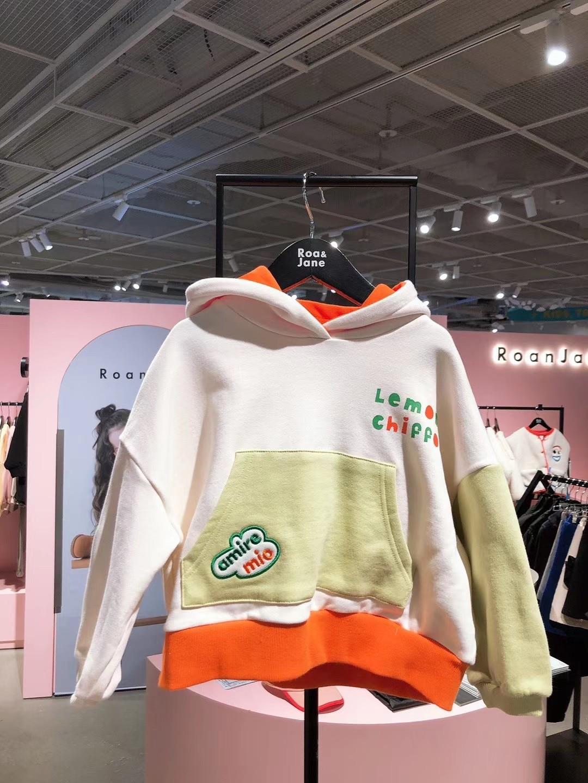 2021 New Spring Summer RJ Korean Brand Kids T-shirts Sweatshirt Baby Girls Children Cartoon T shirt Boy Clothes Jacket Overall 6