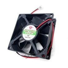 Ventilateur de refroidissement, pour 15V DC 0,35a, 2 fils 80x80x25mm