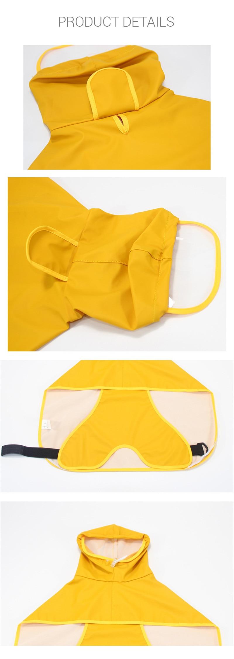 Dog Raincoat  (5)